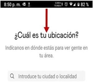 crear cuenta badoo app ubicacion