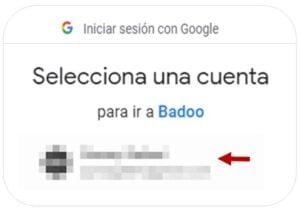 crear cuenta badoo lista contactos