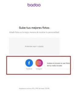 crear cuenta badoo imagenes perfil