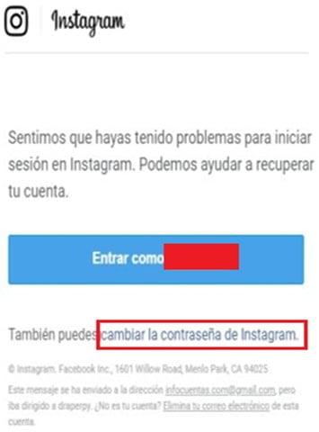 ¿Cómo recuperar cuenta de Instagram?