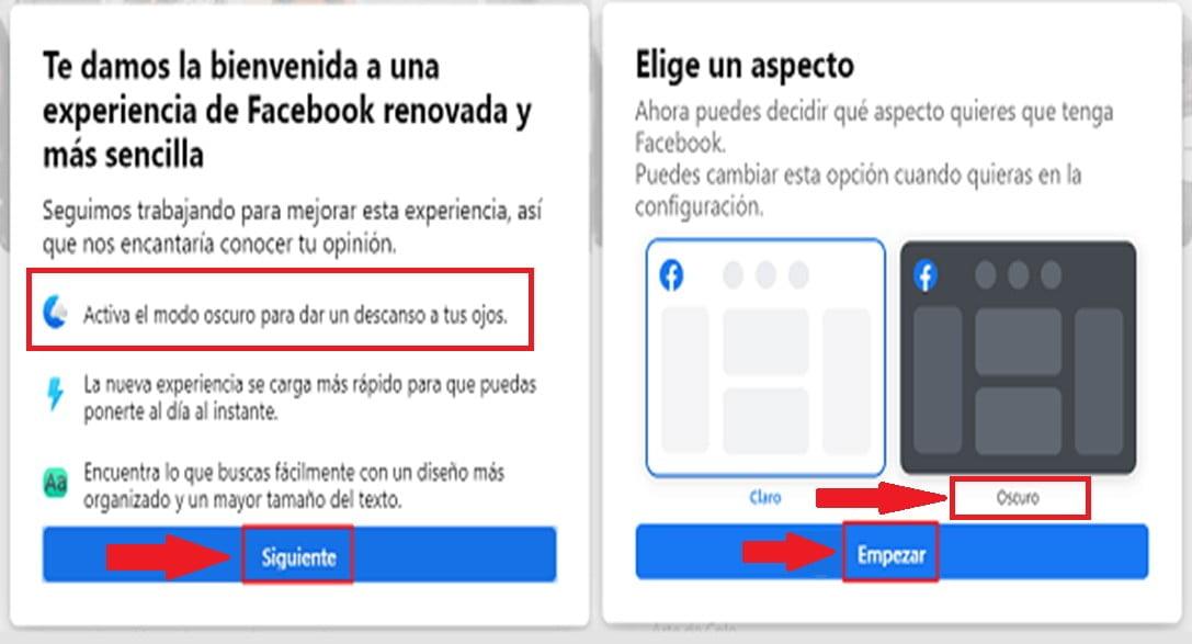 ¿Cómo Activar Modo Oscuro de Facebook?