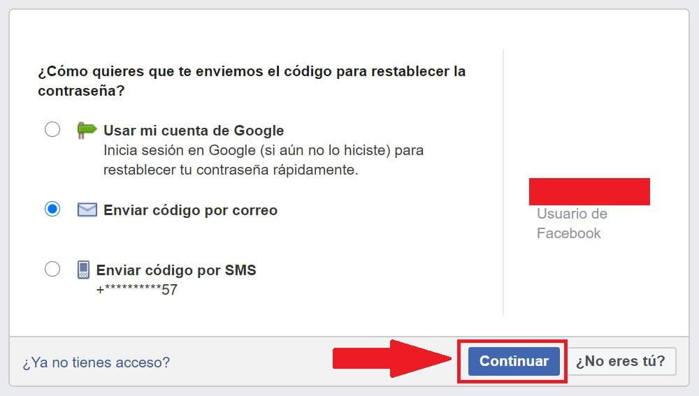 ¿Cómo recuperar cuenta de Facebook?