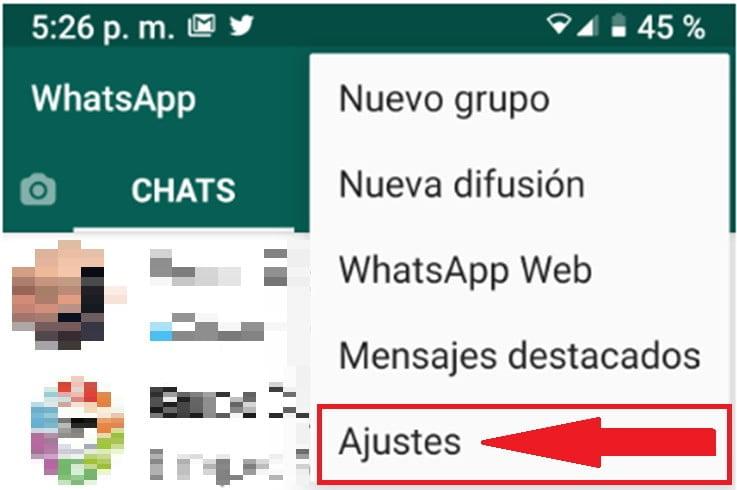 Recuperar conversaciones de WhatsApp