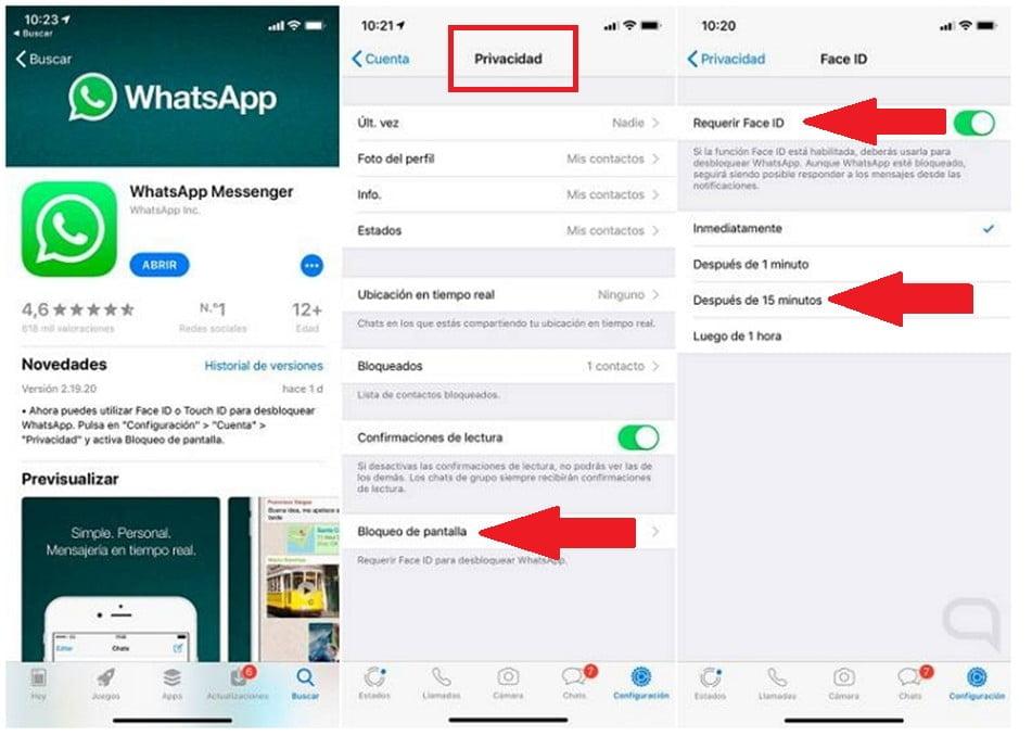 ¿Cómo proteger WhatsApp con contraseña? PASO A PASO