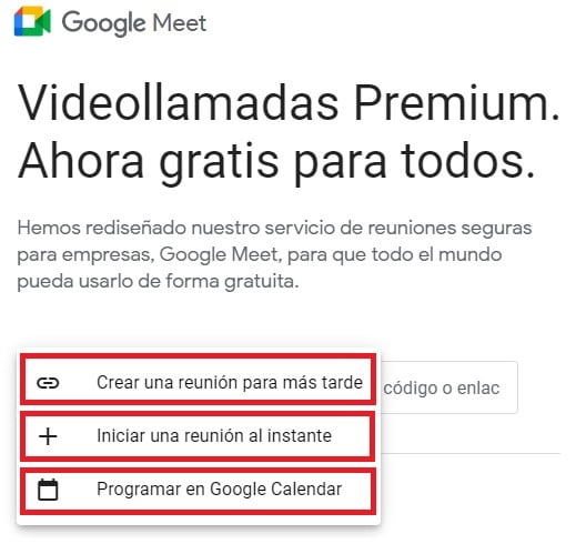 ¿Qué es Google Meet?