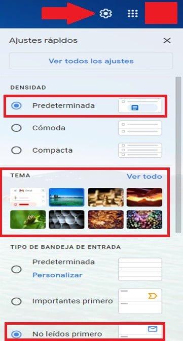 Correo electrónico Gmail