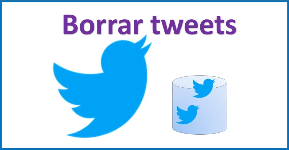 Borrar todos los tweets de Twitter