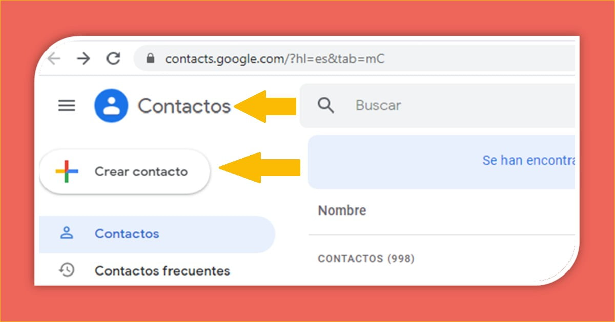 ¿Cuáles son los pasos para agregar nuevos contactos en Gmail?